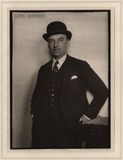 Gerald Tyrwhitt-Wilson, 14th Baron Berners, by Herbert Lambert - NPG Ax7752