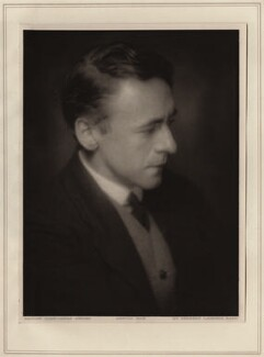 Sir Arnold Bax, by Herbert Lambert - NPG Ax7753