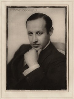 Sir Eugene Goossens, by Herbert Lambert - NPG Ax7757