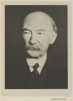 Thomas Hardy, by Alvin Langdon Coburn, published by  Duckworth & Co - NPG Ax7845