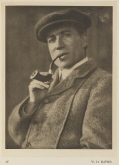 William Henry Davies, by Alvin Langdon Coburn, published by  Duckworth & Co - NPG Ax7848