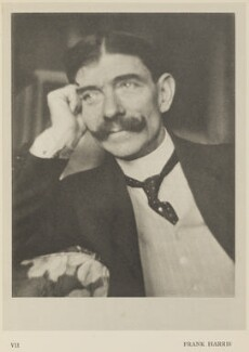 Frank Harris, by Alvin Langdon Coburn, published by  Duckworth & Co, 8 December 1913 - NPG Ax7851 - © The Universal Order