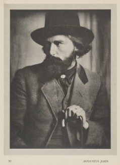 Augustus John, by Alvin Langdon Coburn, published by  Duckworth & Co - NPG Ax7855