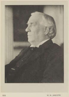 Herbert Henry Asquith, 1st Earl of Oxford and Asquith, by Alvin Langdon Coburn, published by  Duckworth & Co - NPG Ax7857