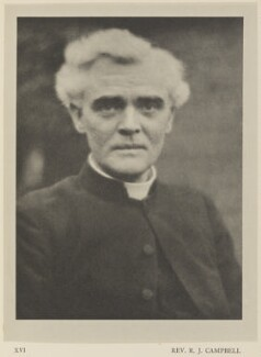 Reginald John Campbell, by Alvin Langdon Coburn, published by  Duckworth & Co - NPG Ax7860