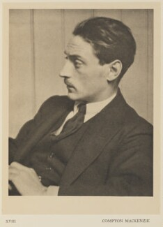 Compton Mackenzie, by Alvin Langdon Coburn, published by  Duckworth & Co - NPG Ax7862