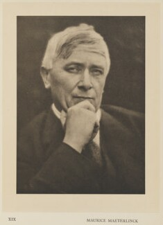 Maurice Maeterlinck, by Alvin Langdon Coburn, published by  Duckworth & Co - NPG Ax7863