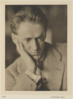 Clifford Bax, by Alvin Langdon Coburn, published by  Duckworth & Co - NPG Ax7869