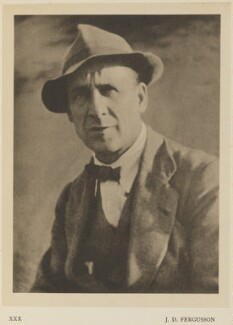 John Duncan Fergusson, by Alvin Langdon Coburn, published by  Duckworth & Co - NPG Ax7872