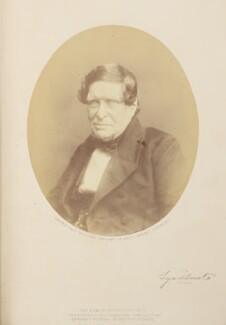 John Singleton Copley, Baron Lyndhurst, by (George) Herbert Watkins, 1857 - NPG Ax7903 - © National Portrait Gallery, London