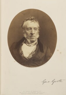 George Grote, by (George) Herbert Watkins, 1857 - NPG Ax7905 - © National Portrait Gallery, London