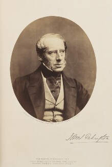 John Somerset Pakington, 1st Baron Hampton, by Herbert Watkins - NPG Ax7914