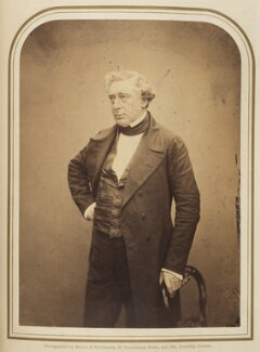 Robert Stephenson, by Maull & Polyblank - NPG Ax7928