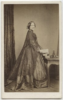Catherine Gladstone (née Glynne), by William Walker & Sons - NPG Ax8531