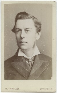 Joe Chamberlain, by Henry Joseph Whitlock, 1870s - NPG Ax8549 - © National Portrait Gallery, London
