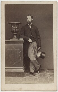 Spencer Compton Cavendish, 8th Duke of Devonshire, by John & Charles Watkins, published by  Mason & Co (Robert Hindry Mason), 1860s - NPG Ax8551 - © National Portrait Gallery, London