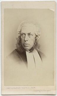 Robert Porrett Collier, 1st Baron Monkswell, by John & Charles Watkins - NPG Ax8557