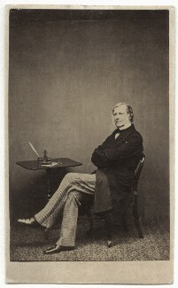 Sir George Grey, 2nd Bt, by W. & D. Downey - NPG Ax8564