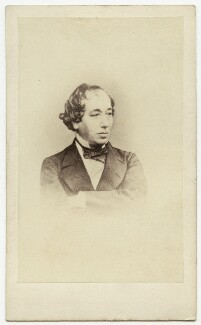 Benjamin Disraeli, Earl of Beaconsfield, by Henry Lenthall, after  William Edward Kilburn - NPG Ax8566
