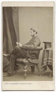 William Henry Berkeley Portman, 2nd Viscount Portman, by John & Charles Watkins - NPG Ax8574