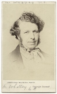 George Hammond Whalley, by John & Charles Watkins - NPG Ax8582