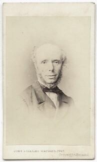 Sir Thomas Chambers, by John & Charles Watkins - NPG Ax8595