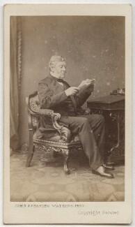 Sir Thomas Bazley, 1st Bt, by John & Charles Watkins - NPG Ax8614