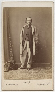 Sir James Stansfeld, by William Elliott Debenham - NPG Ax8615