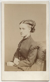 Dame Millicent Garrett Fawcett (née Garrett), by Henry Joseph Whitlock, late 1860s - NPG Ax8628 - © National Portrait Gallery, London