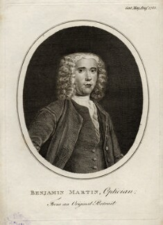 Benjamin Martin, after Unknown artist - NPG D9513