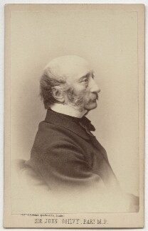 Sir John Ogilvy, 9th Bt, by James Valentine - NPG Ax8641