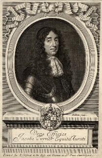 Sir James Turner, by Robert White, after  Unknown artist - NPG D9515