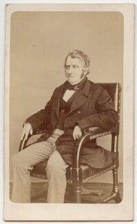 John Arthur Roebuck, by W. & D. Downey - NPG Ax8664