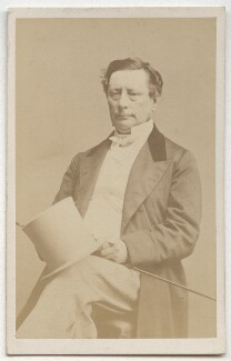 Sir (Samuel) Morton Peto, 1st Bt, by John Beattie - NPG Ax8670