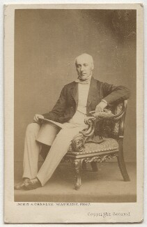 Unknown man formerly called Dudley Coutts Marjoribanks, 1st Baron Tweedmouth, by John & Charles Watkins - NPG Ax8674
