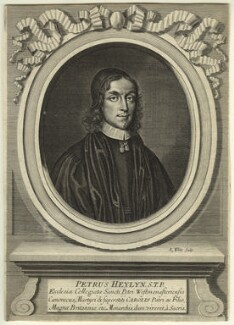 Peter Heylyn, by Robert White, after  Unknown artist - NPG D9516