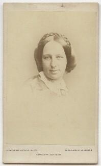 Elizabeth Caroline (née Boothby), Lady Fermoy, by John & Charles Watkins - NPG Ax8679