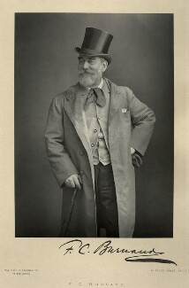 Frank Burnand, by Walery, published by  Sampson Low & Co - NPG x9112