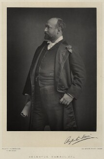 Sir Augustus Henry Glossop Harris, by Walery, published by  Sampson Low & Co - NPG Ax9132