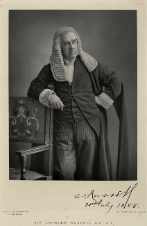 Charles Arthur Russell, Baron Russell of Killowen, by Walery, published by  Sampson Low & Co - NPG Ax9165