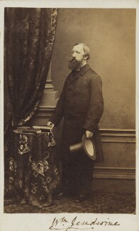 William Jeudwine, by Unknown photographer, circa 1861 - NPG Ax9524 - © National Portrait Gallery, London