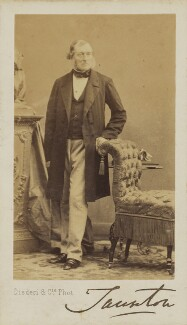 Henry Labouchere, Baron Taunton, by Disdéri - NPG Ax9532