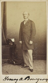 Henry Atkins-Bowyer, by Unknown photographer - NPG Ax9541
