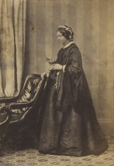 Emma (née Foljambe), Lady Anderson, by Unknown photographer - NPG Ax9556