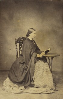 Frances Mary Wilberforce (née Anderson), by Unknown photographer - NPG Ax9557