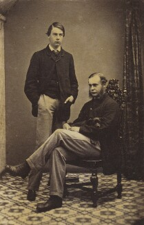Ernest Roland Wilberforce; Francis Foljambe Anderson, by Unknown photographer - NPG Ax9558