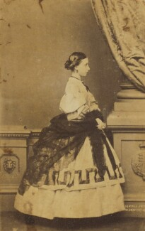 Princess Helena Augusta Victoria of Schleswig-Holstein, by John Jabez Edwin Mayall - NPG Ax9580