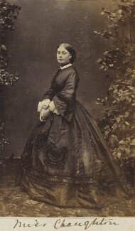 Amelia Maria (née Claughton), Duchess of Argyll, by Unknown photographer, circa 1862 - NPG Ax9607 - © National Portrait Gallery, London