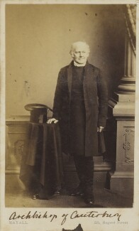 Charles Thomas Longley, by John Jabez Edwin Mayall - NPG Ax9608