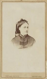 Hon. Julia Susannah Claughton (née Ward), by Ghémar Frères - NPG Ax9618